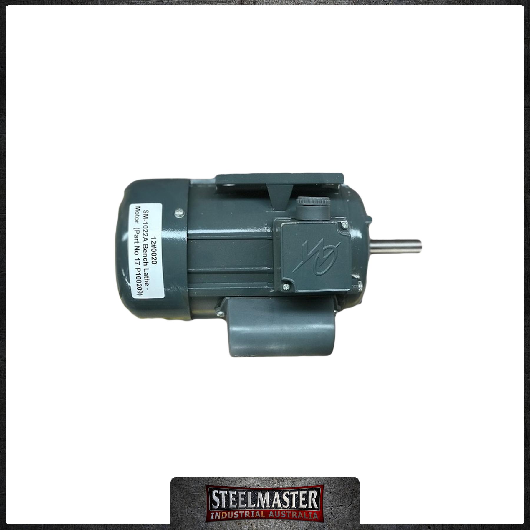 Sm 1022A Bench Lathe Motor (Part No 17 P100209)