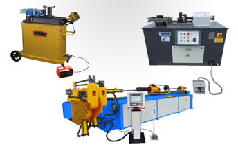 Tube and pipe bending machinery