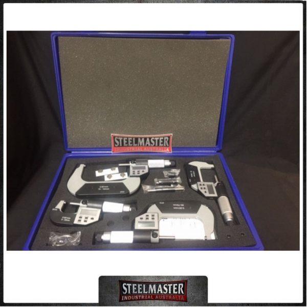 Digital LCD Micrometer